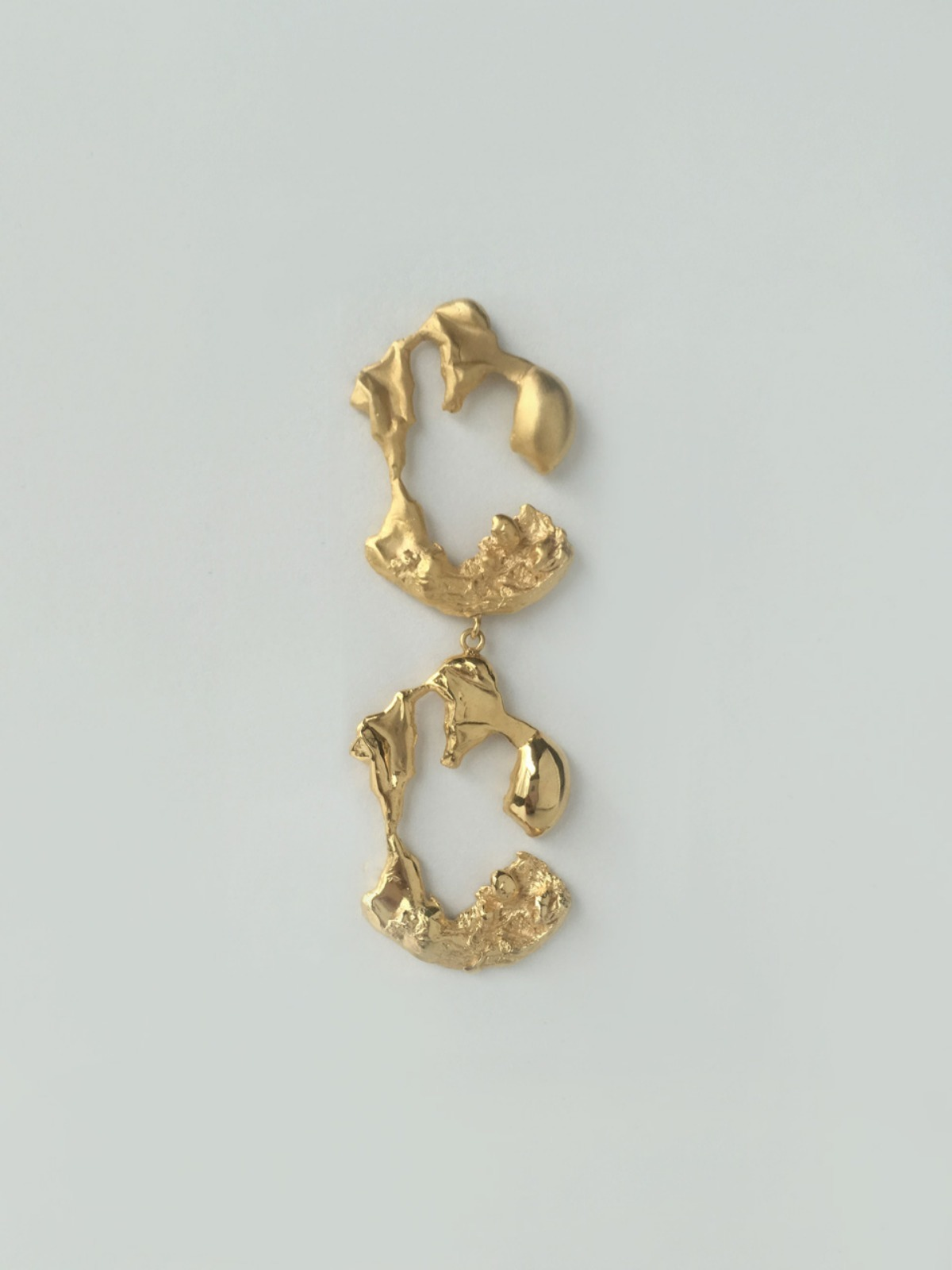 Melting C earring (duet)