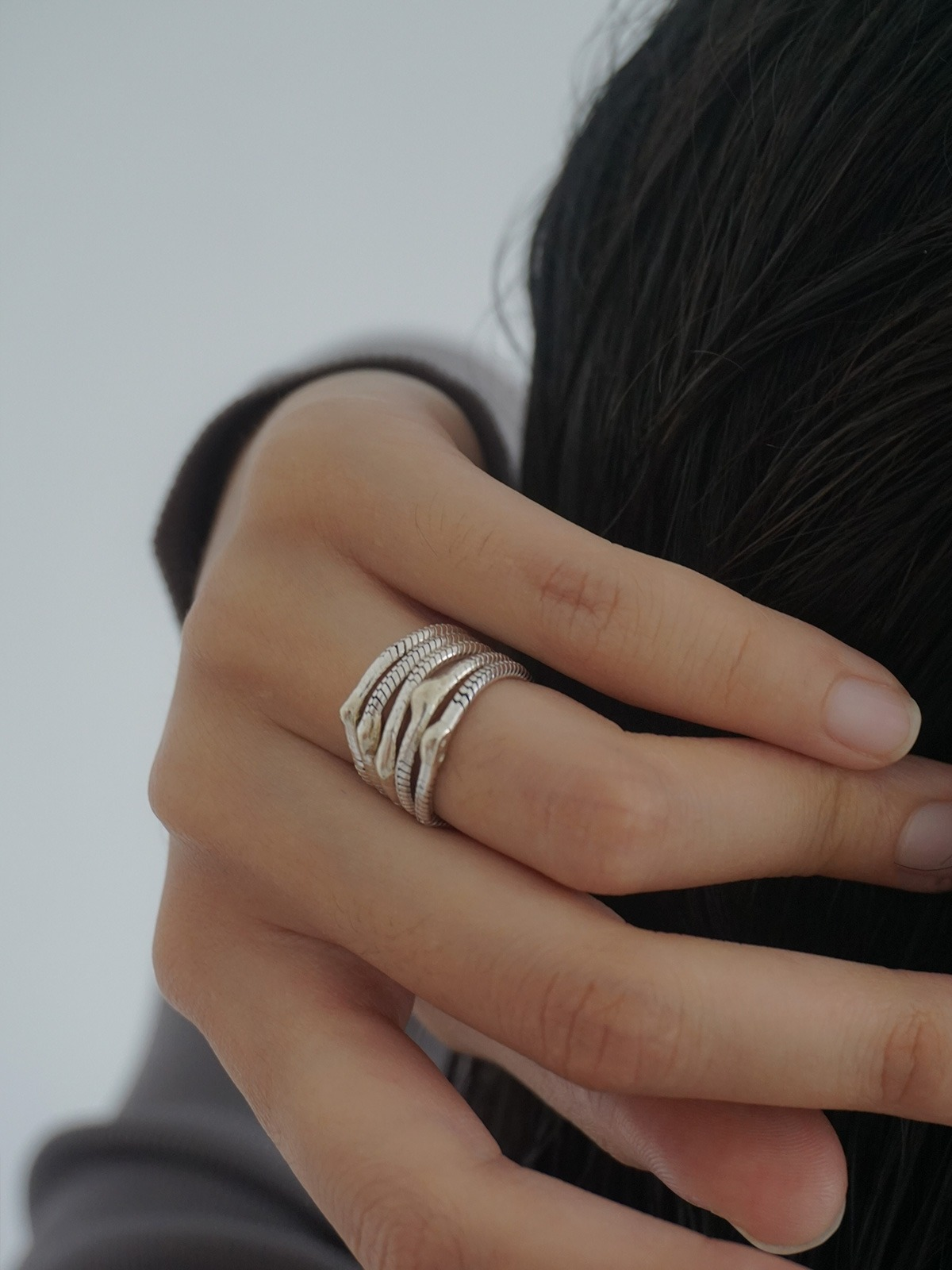 Pulse silk ring